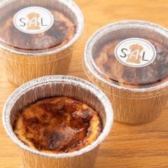 米粉のバスクチーズケーキ ¥380